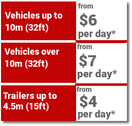Long Term Car Storage prices
